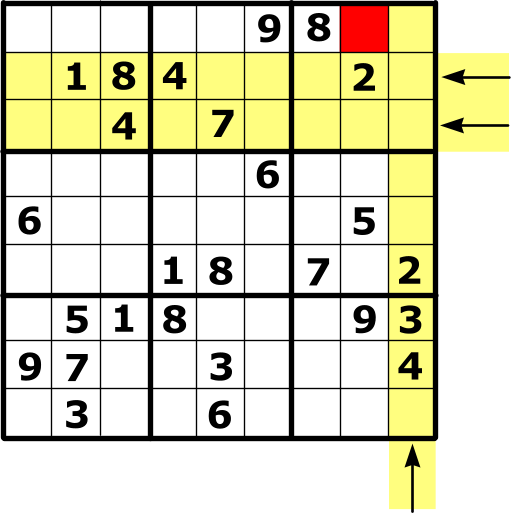 Illustration of a Sudoku gimmie.