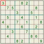 Sudoku Puzzle Two
